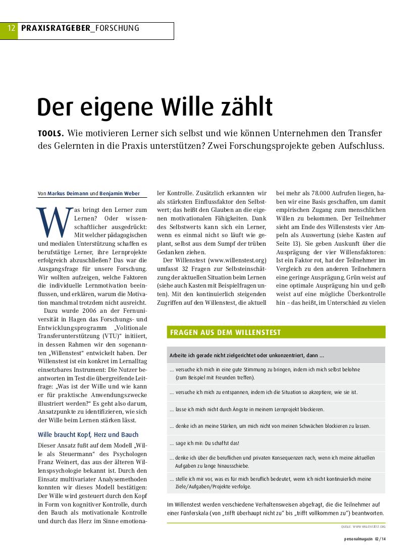 Transferbegleitung benjamin Weber Markus Deimann